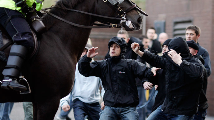 UK police to withdraw over 1,400 football hooligans' passports ahead of World Cup