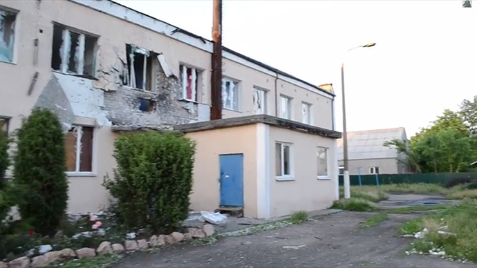 Devastation: Ukraine army shells hit another hospital (VIDEO)