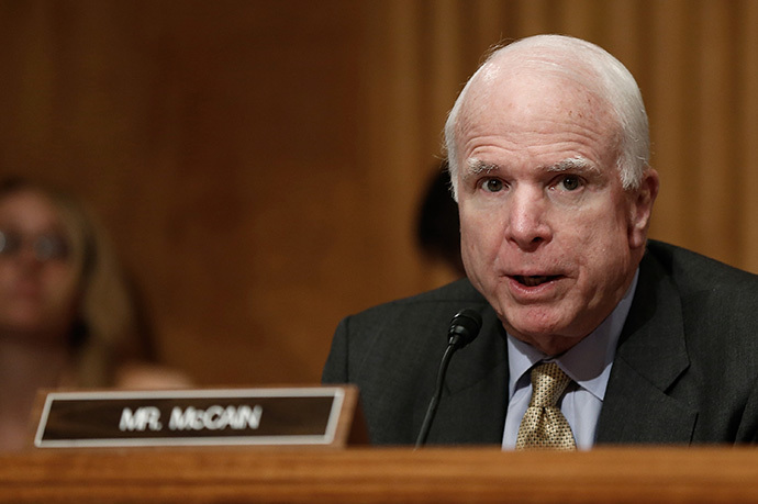 Sen. John McCain (Win McNamee / Getty Images / AFP)