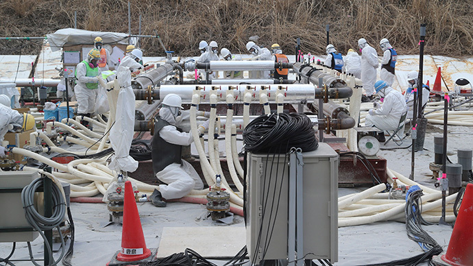 Japan's Great Wall of Ice: TEPCO starts work on Fukushima underground barrier