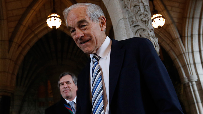 Ron Paul: Neocons are right to be scared about dollar diminishing