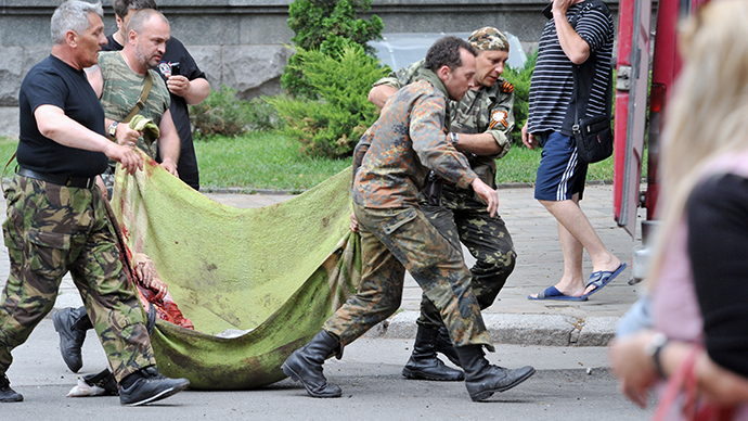 181 people killed, 293 injured in Kiev military op in eastern Ukraine