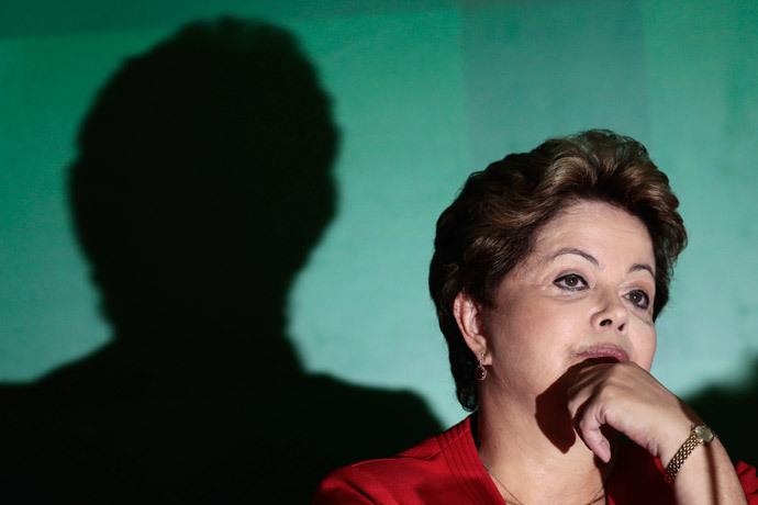 Brazil's President Dilma Rousseff.(Reuters / Ueslei Marcelino)