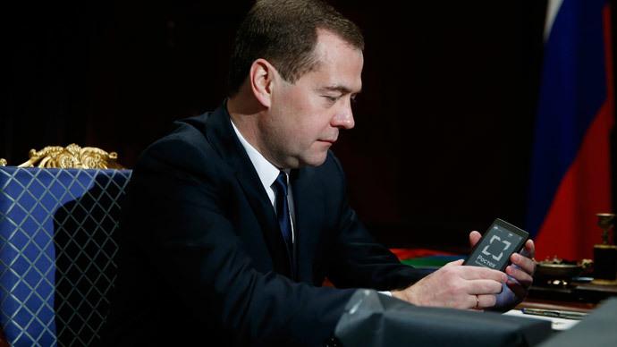 Russia's Prime Minister Dmitry Medvedev.(Reuters / Dmitry Astakhov)