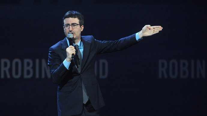 John Oliver crashes FCC site after calling to defend net neutrality