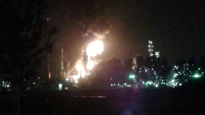 Major explosion, fire at Shell plant in the Netherlands (PHOTOS, VIDEO)