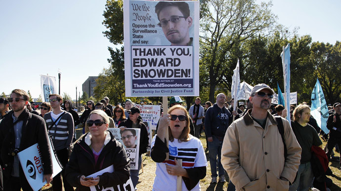 Most Americans applaud Snowden's exposure of NSA mass surveillance – poll