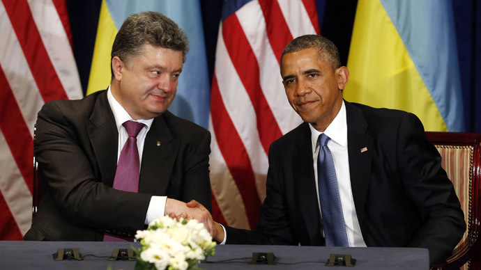 US may soon train Kiev's military, Obama tells Ukraine's president-elect