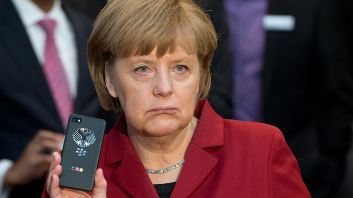 Merkel reportedly gets NSA-proof phone with chip costing 2.5k euros