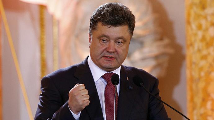 Ukraine ready to sign EU trade deal 'immediately' - Poroshenko