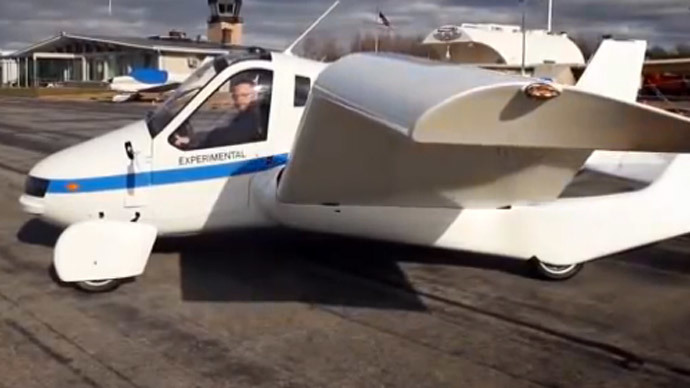 Company promises to start mass producing flying cars by 2016 (VIDEO)