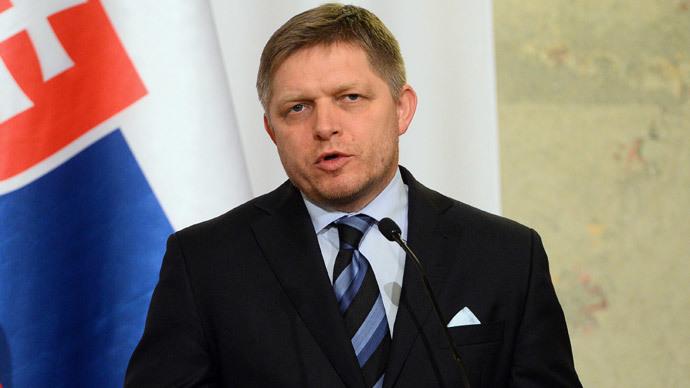 Prime minister Robert Fico of of Slovakia (AFP Photo / Attila Kisbenedek)
