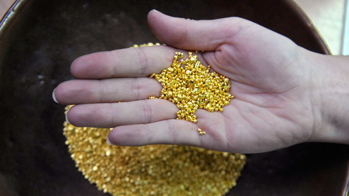 ​Russia surpasses US gold production for first time in 25 years