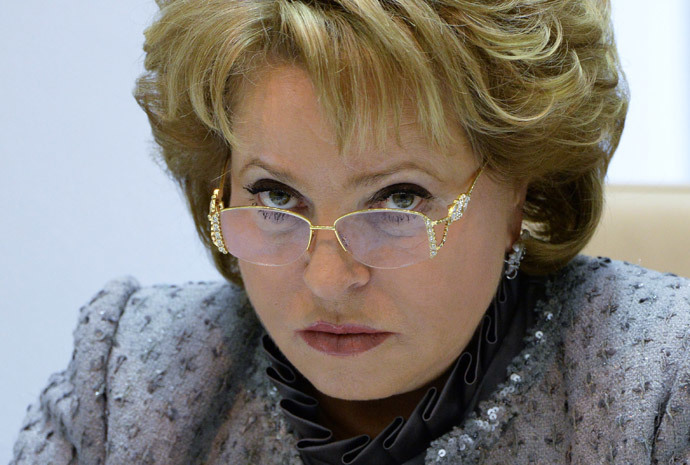Valentina Matvienko (RIA Novosti / Maksim Blinov)