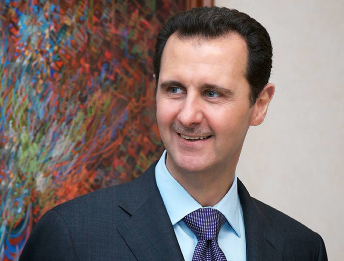 Syrian President Bashar al-Assad (AFP Photo / HO / Syrian Presidency Facebook Page)