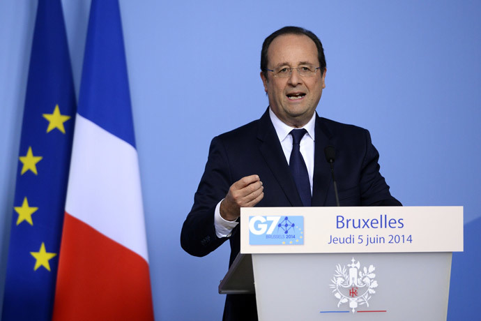 France's President Francois Hollande (AFP Photo / Alain Jocard)