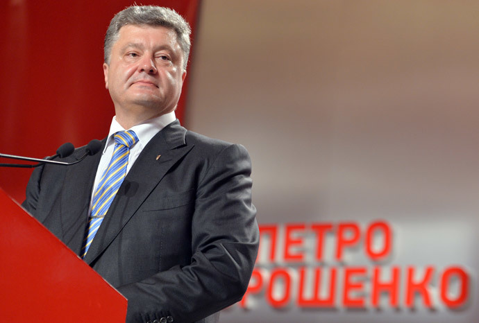 Petro Poroshenko (AFP Photo / Sergei Supinsky)