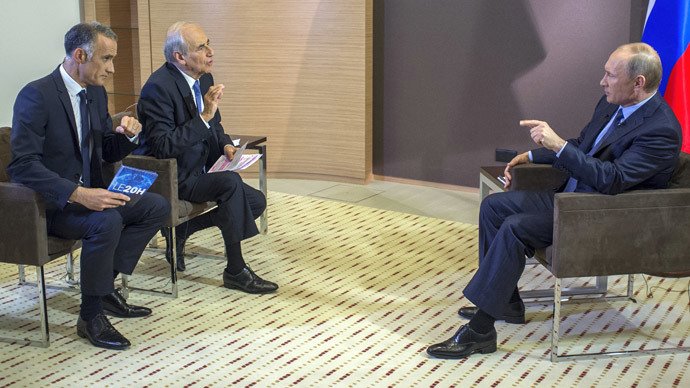 Putin speaks out on Ukraine, Crimea and US relations with French media
