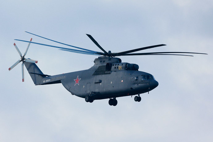 Mi-26 helicopter (RIA Novosti/Anton Denisov)