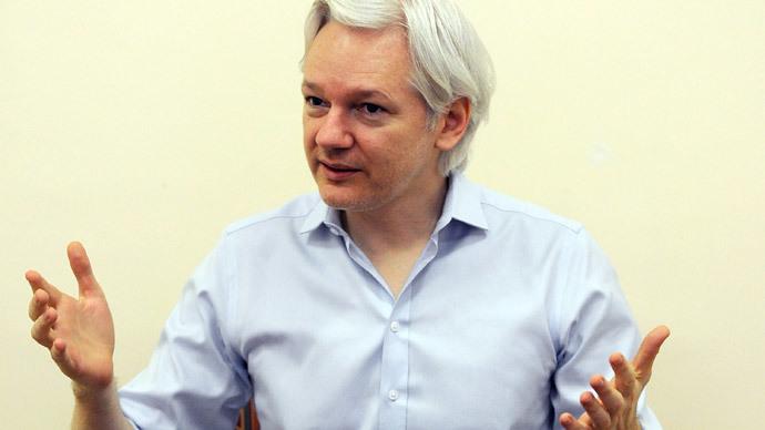 Assange, NY forum talk Orwellian future, internet as 'suppression' tool
