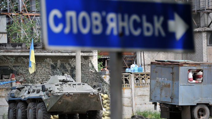 Slavyansk under fire, without water and power as Kiev troops resume shelling