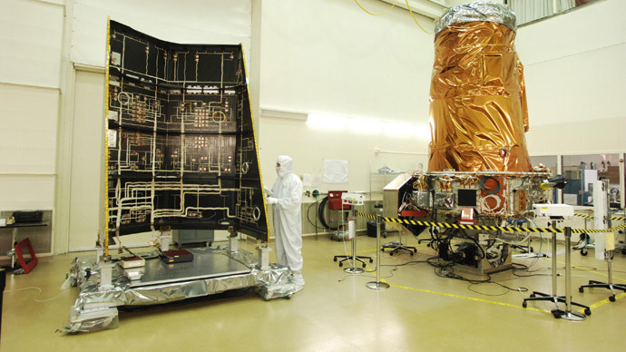 Kepler Space Observatory during assembly. (AFP Photo / NASA)