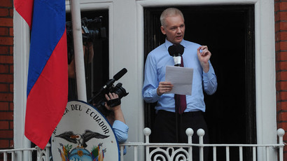 ​Assange stakeout has cost UK taxpayers £9mn