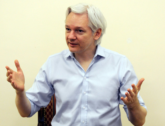 Wikileaks founder Julian Assange.(AFP Photo / Anthony Devlin )