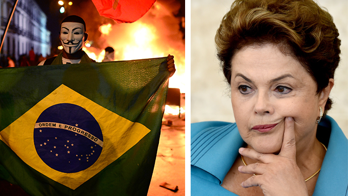 #NotGoingToBrazil hits Twitter as Rousseff slams 'campaign against World Cup'