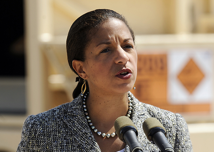 US National Security Adviser Susan Rice (AFP Photo / David Buimovitch)