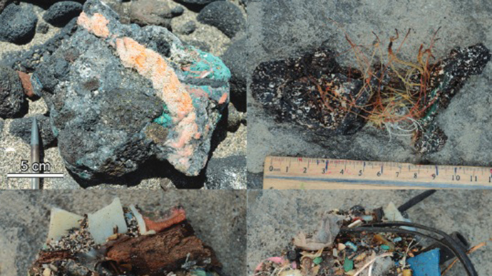 ​'Plastic stones' found at remote Hawaii beach