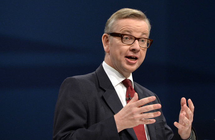 Britain's Education Secretary Michael Gove (Reuters)