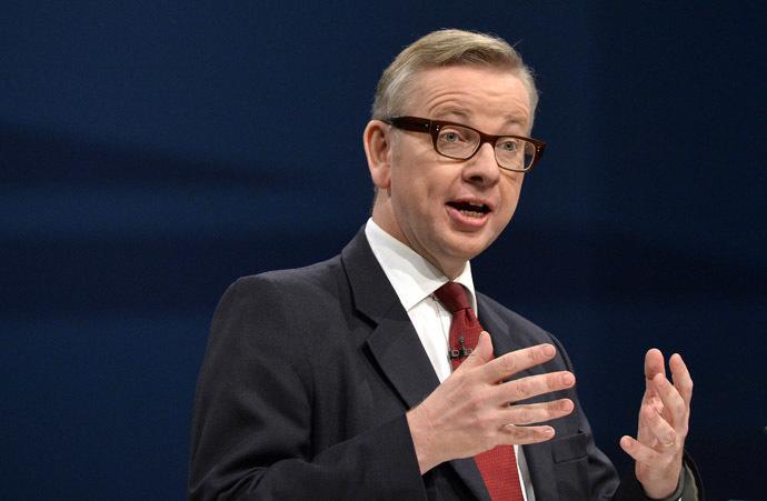 Britain's Education Secretary Michael Gove (Reuters)