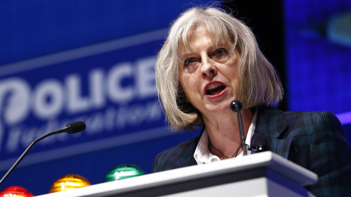 Britain's Home Secretary Theresa May (Reuters)