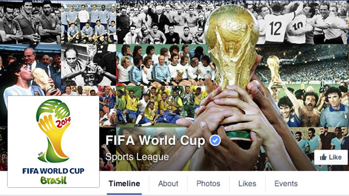 ​Facebook claims to become 'biggest stadium in the world' for World Cup