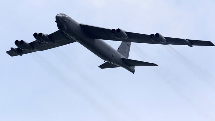 A Boeing B-52 Stratofortress strategic bomber (Reuters/Tim Chong)