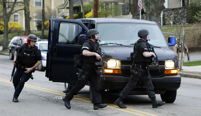 Police SWAT team members (Reuters/Jim Bourg)
