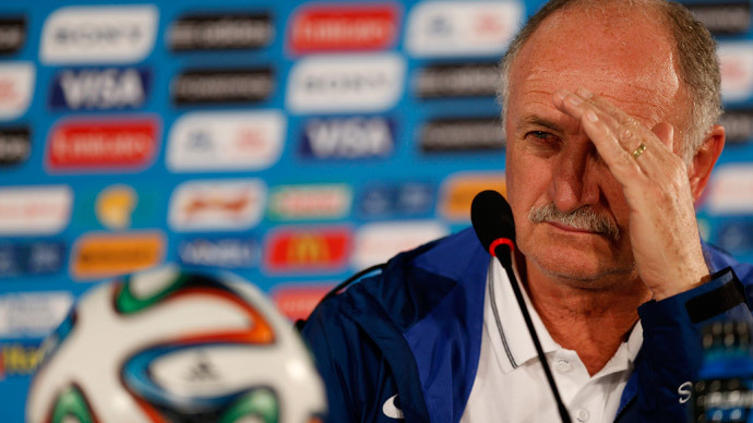 Brazil's national soccer team head coach Luiz Felipe Scolari.(Reuters / Ueslei Marcelino)