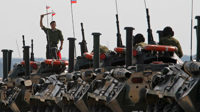 Russia launches Baltic drills alongside NATO Saber Strike war games