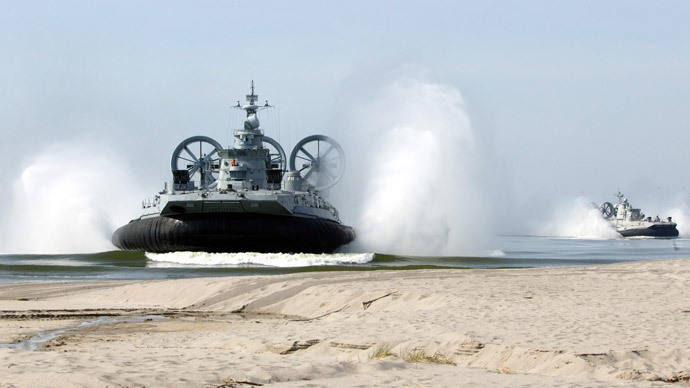 Zubr air-cushioned landing craft (RIA Novosti / Igor Chuprin)
