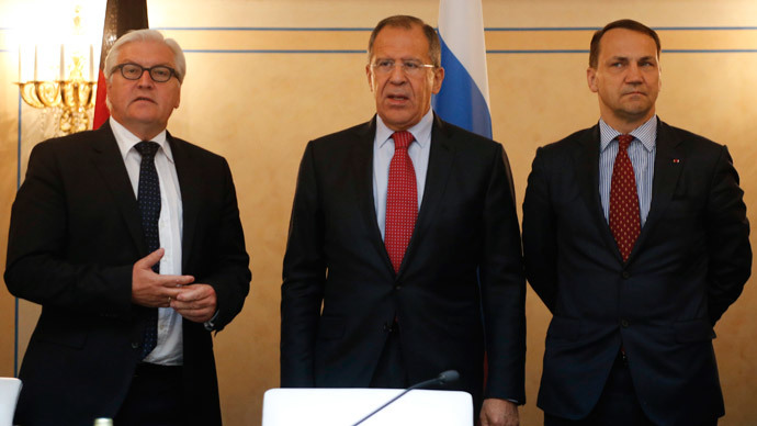 Lavrov: Russia won't sanction if Kiev signs EU deal