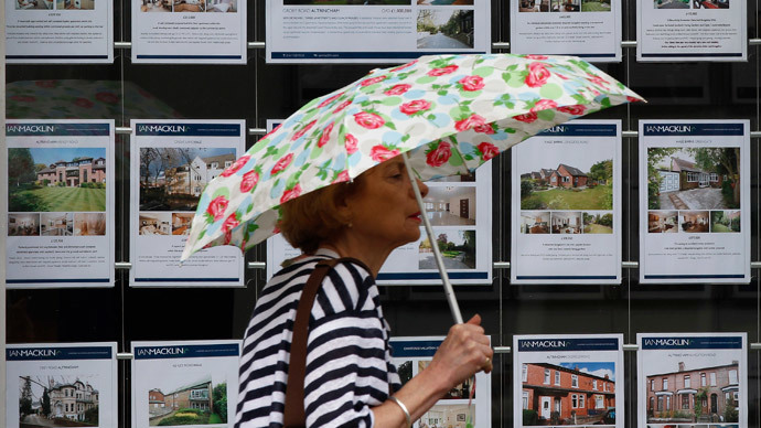 Risky UK mortgage loans reach five-year high