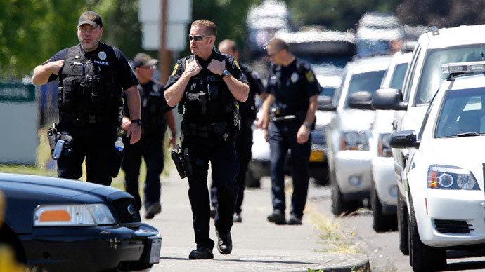 Gunman and victim dead following school shooting in Oregon