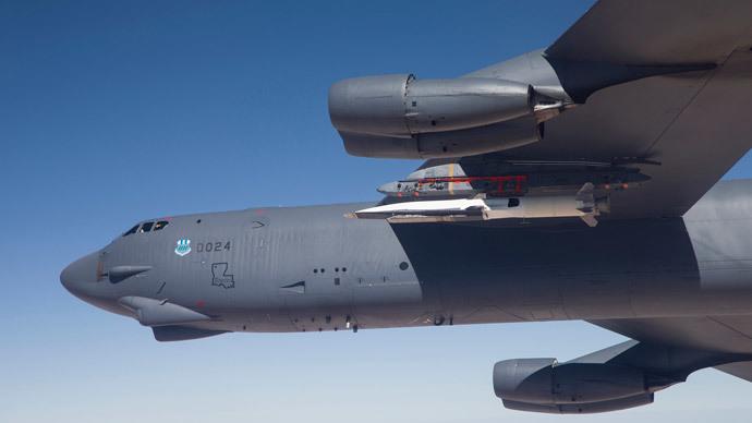 U.S. Air Force B-52.(Reuters / Bobbi Zapka)