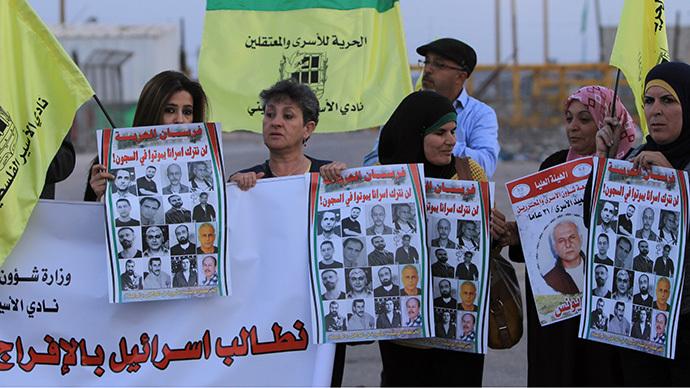 Palestinians seek UN, EU action against Israel over detainees