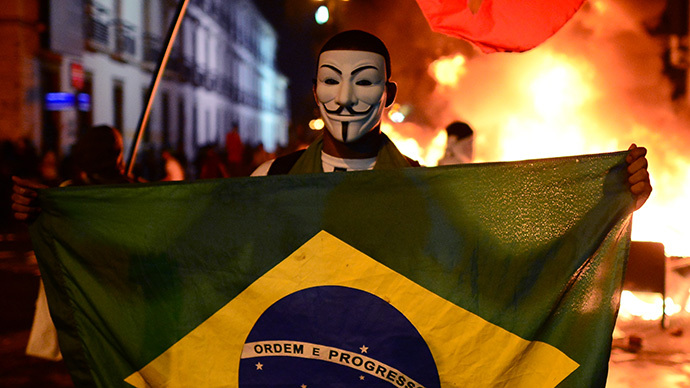​#OpWorldCup: Anonymous wages cyber attacks against Brazil govt