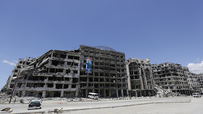 Militant rehab program in Syria's Homs seeks to heal war wounds