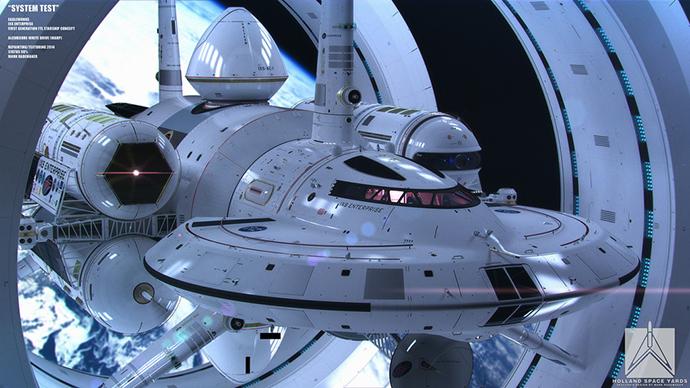 NASA scientist designs faster-than-light spacecraft (PHOTOS, VIDEO)