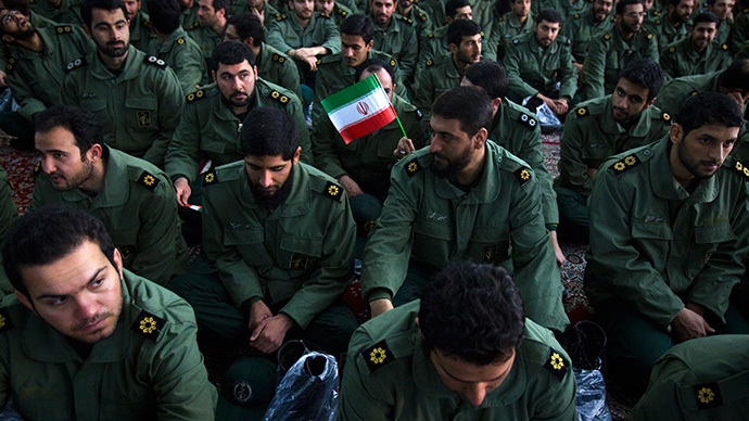 Iranian Revolutionary Guard (Reuters / Raheb Homavandi)