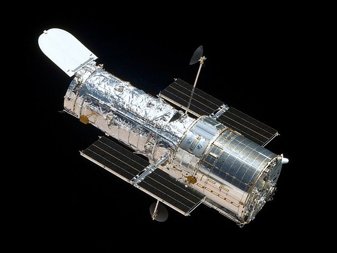 The Hubble Space Telescope (image from wikipedia.org)